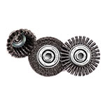 UA Lubbock Wire Wheels and Brushes for Sanding